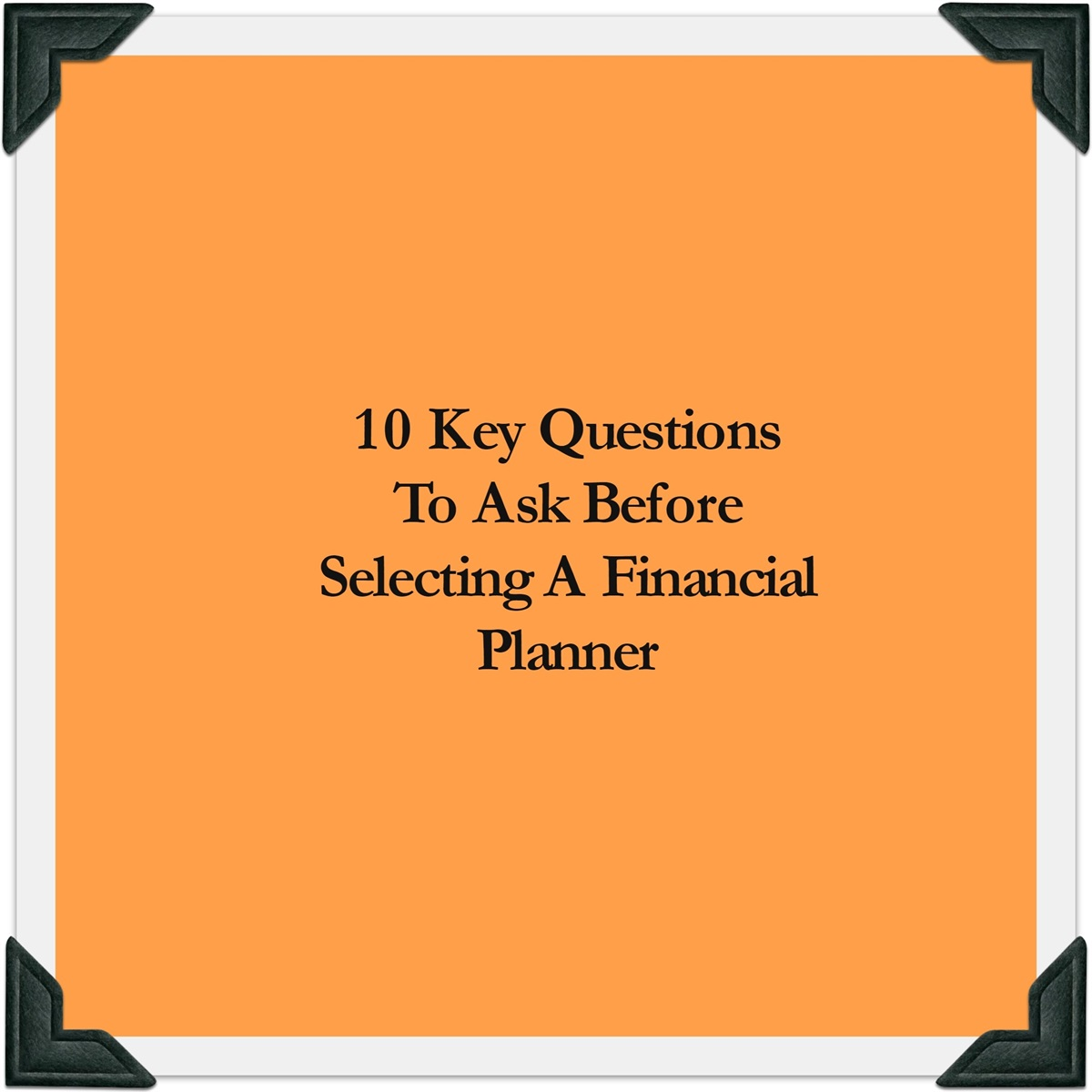 questions to ask a professional