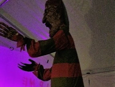 Freddy with effects
