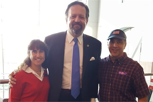 Dinner with Dr. Sabastian Gorka
