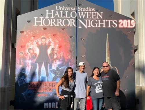 Taking notes by attending the HHN at Universal Studios
