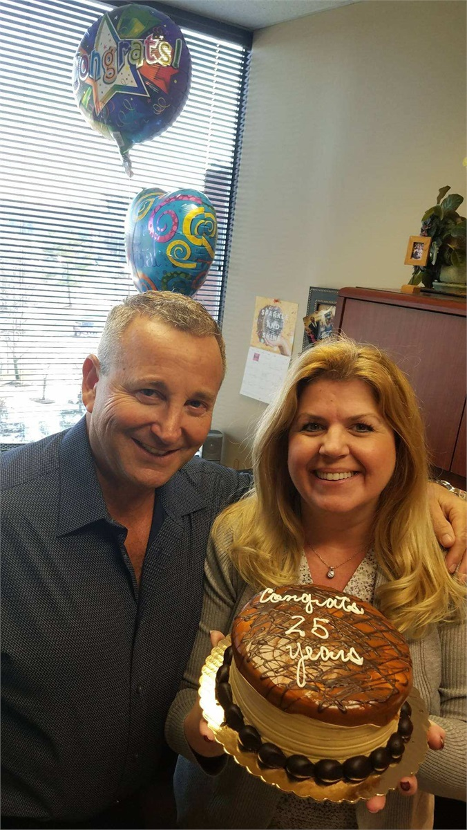 Barb Celebrates 25 years at Gotleib & Associates