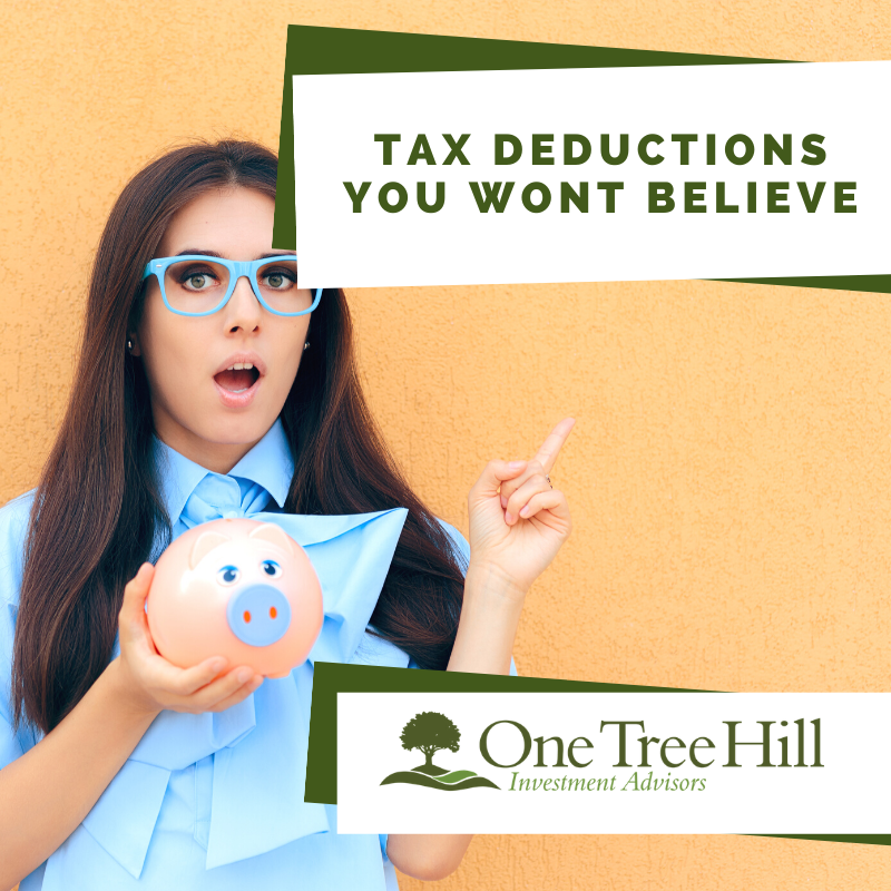 Tax Deductions You Wont Believe | One Tree Hill Investment ...