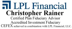 Christopher Rainer - CPFA, AIF<sup><sup>&#174;</sup></sup>, CEFEX achieved in combination with LPL Financial Home