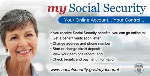 Myaccount socialsecurity gov