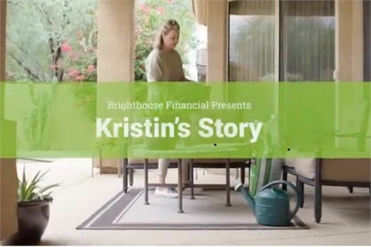 Brighthouse commerical featuring Andrea's Reiners client, Kristin.