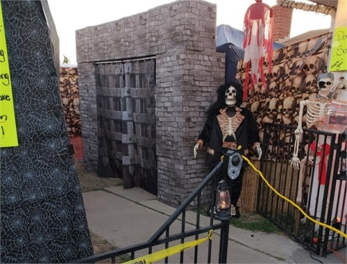 The entrance to SALEM HAUNTS