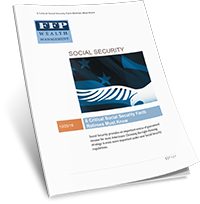 Financial Planning Whitepaper: 6 Social Security Facts