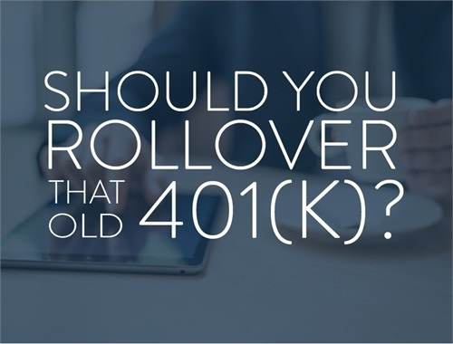 IRA AND 401(K) ROLLOVERS