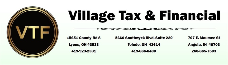 Village Tax and Financial Services Home