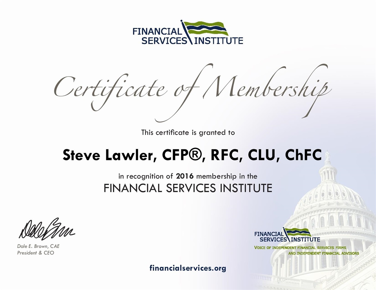 Stephen C Lawler Cfp Lawler Financial Certified Financial Planner