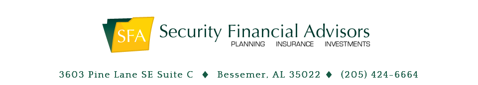 Security Financial Advisors Home
