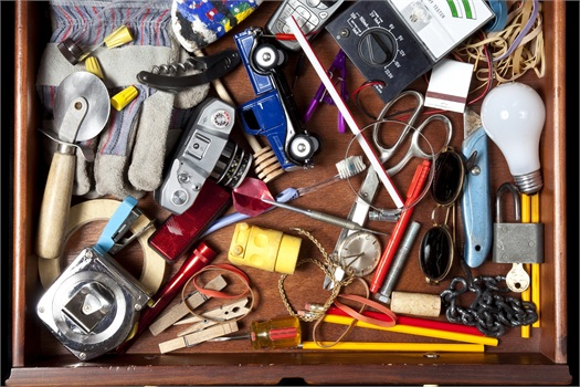 <br /><br /><br /><br />Organize Your Financial Junk Drawer