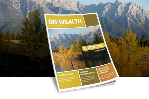 On Wealth Magazine Fall '20