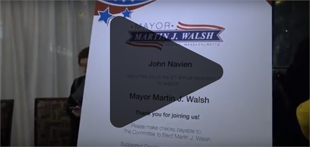 Distinguished Leadership Series: Mayor Martin J. Walsh