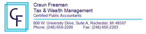Craun Freeman Tax & Wealth Management Home