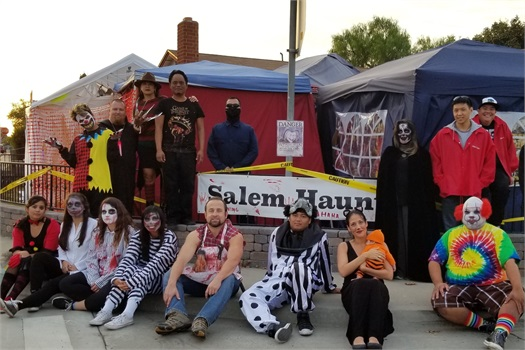 2017 Salem Haunts Cast and Crew