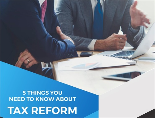 5 Things You Need To Know About The Tax Reform