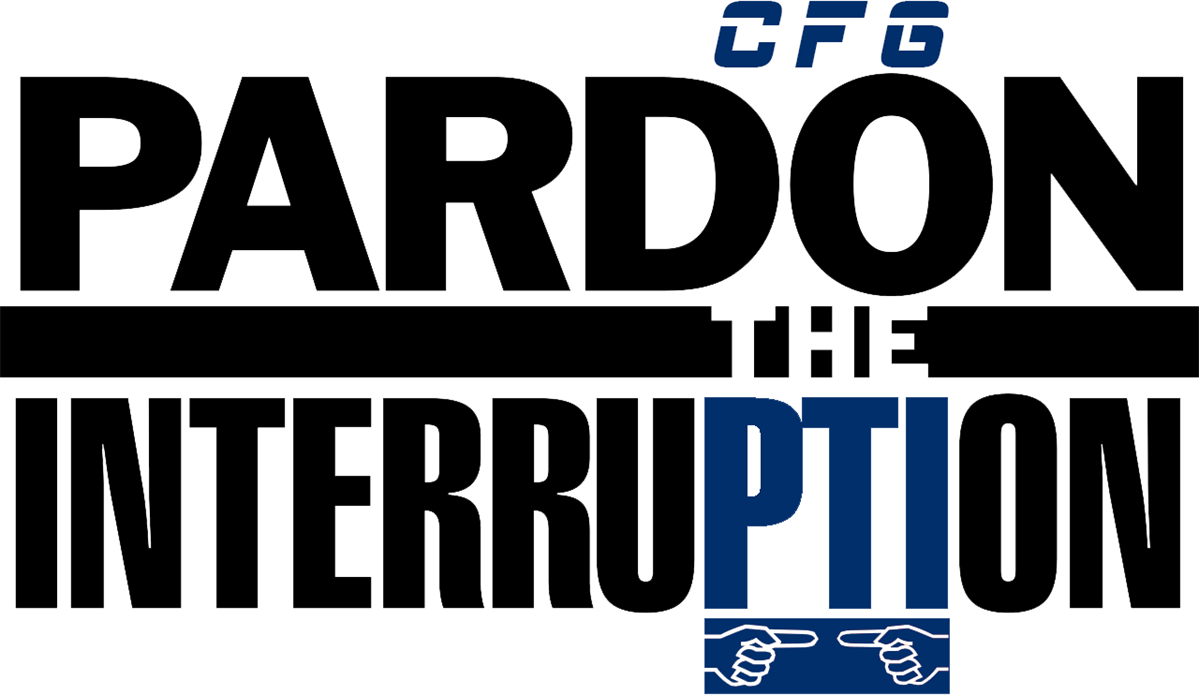 Upcoming Event: CFG Pardon the Interruption