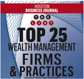 2017 Top 25 Wealth Management Firms List in Houston