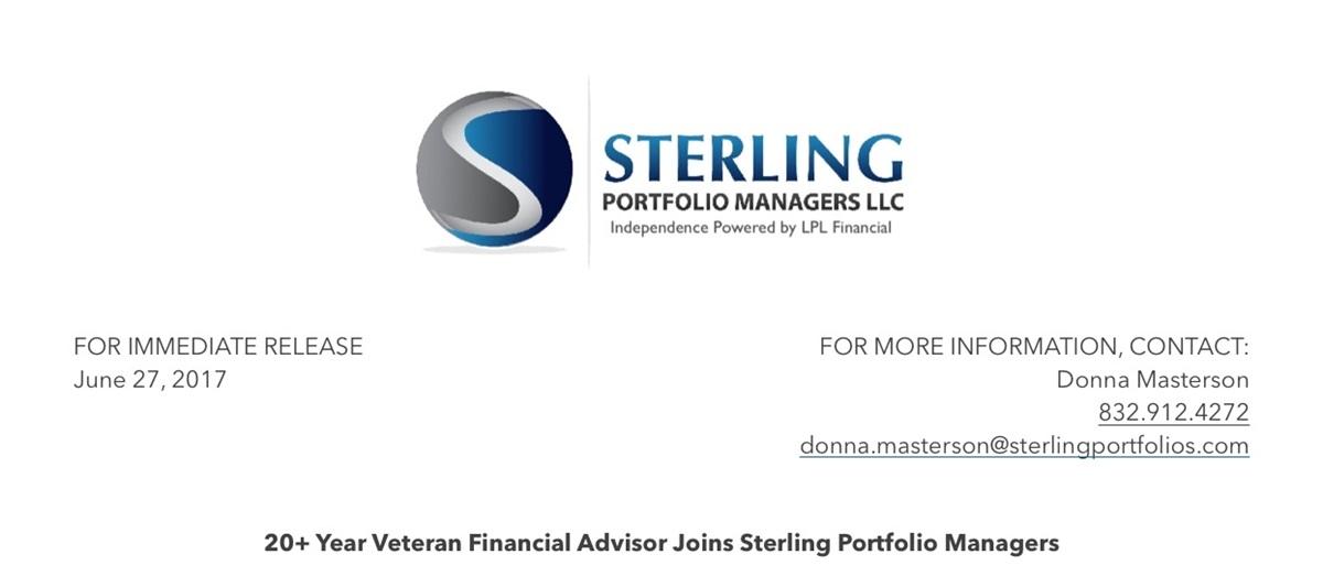 BLOG | Press Release: Jeff Steiner