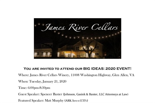 BIG IDEAS: 2020 EVENT