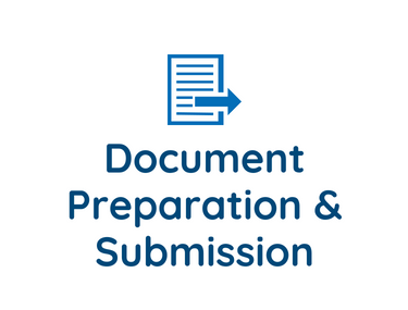 Document Preparation and Submission
