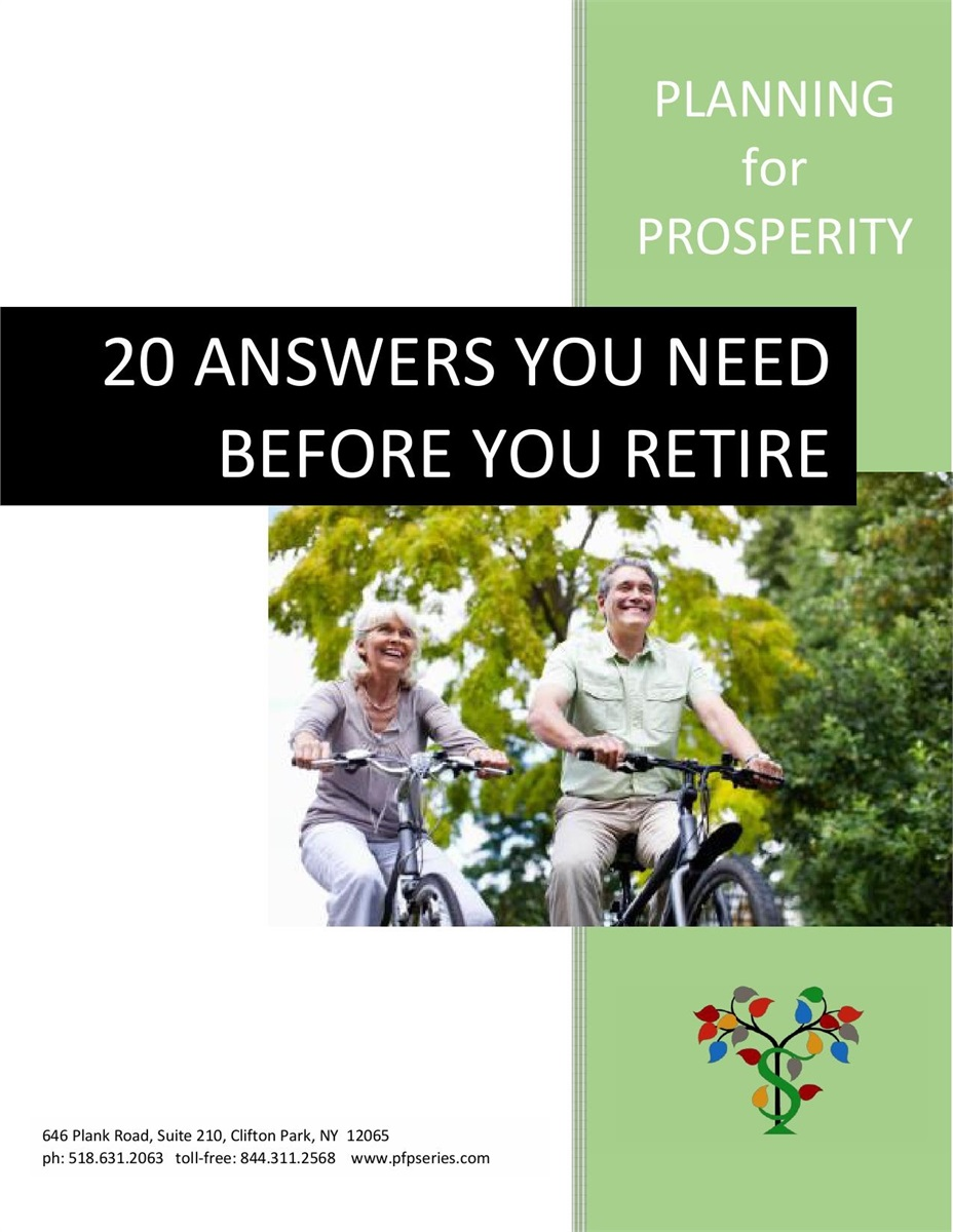 20 Answers You Need Before You Retire