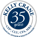 Kelly Crane CFP Celebrates 30 Years as Financial Advisor