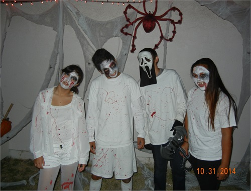 Photos before the Haunt