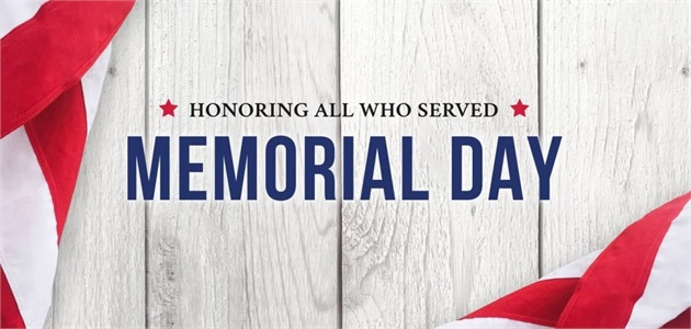 OWA is closed on Memorial Day