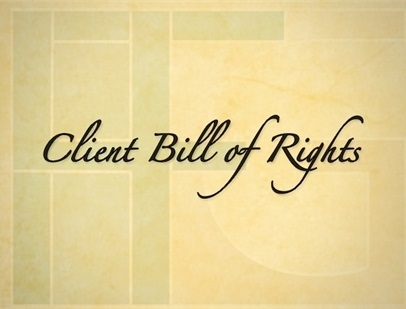Our Client Bill of Rights