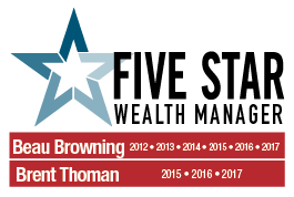 Five Start Wealth Manager Award
