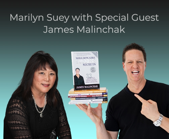 SAVE THE DATE ASK Marilyn with Guest James Malinchak