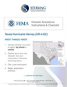 Hurricane Harvey: How to File for FEMA Disaster Assistance