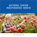 National Senior Independence Month