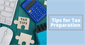 Tips for Tax Preperation