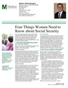 4 Things Women Should Know About Social Security