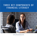 Three Key Components of Financial Literacy