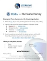 Hurricane Harvey — FEMA Emergency Phone Numbers