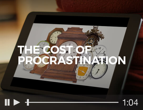 The Cost of Procrastination