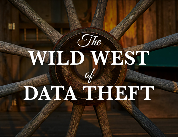 The Wild West of Data Theft