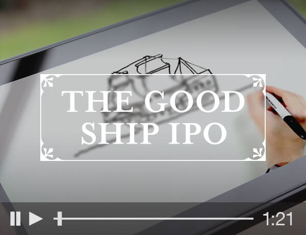 The Good Ship IPO