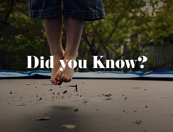 Did You Know This Fact About Trampolines?