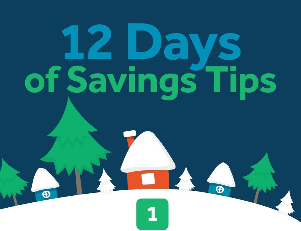 12 Days of Saving Tips