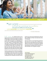 Spring 2015 Worthwise Issue For Women