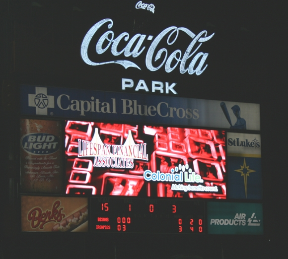 LifeSpan Financial & Colonial Life Light Up the Billboard Signage at the Park!