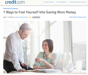 7 ways to fool yourself into saving more money