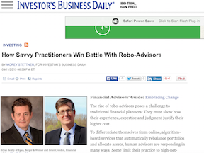 How Savvy Practitioners Win Against Robo Advisers