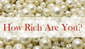 How Rich Are You?