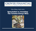 Speculation vs. Investing: The Tortoise Always Wins - Part 1